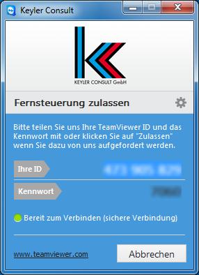 KC TeamViewer für den PC